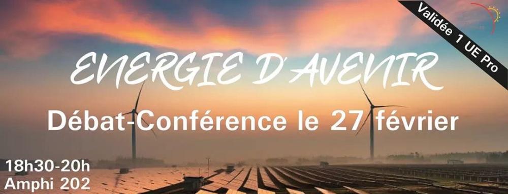 """Conférence """"Energie d'avenir"""""""