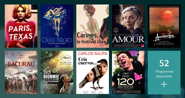 Séléction films primés à Cannes
