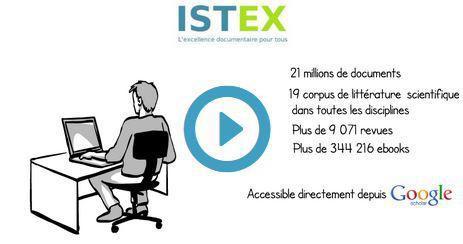 Google scholar et ISTEX