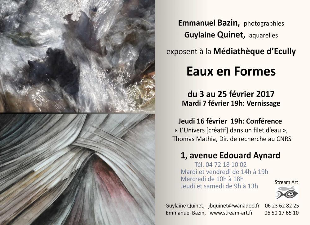 """Exposition """"Eaux en Formes"""""""