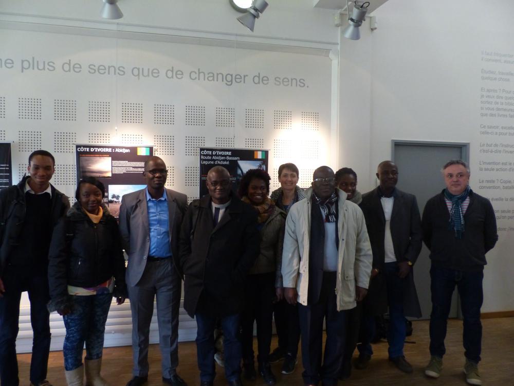 Visite de la délégation ivoirienne
