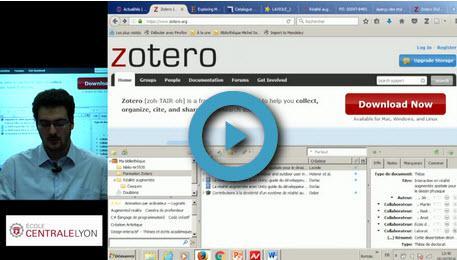 Zotero : votre bibliographie en un clic (ou presque) !