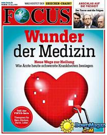 "Revue allemande ""Focus"""