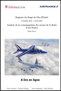 Analyse de la consommation des avions de la flotte d'Air France