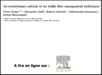 An evolutionary outlook of air traffic flow management techniques