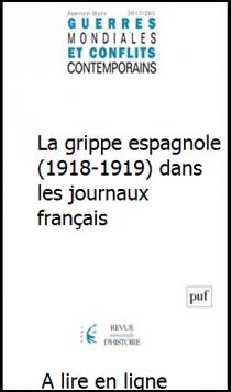 La grippe espagnole (1918-1919) dans les journaux français