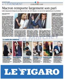 Le Figaro décrypte la victoire d'En Marche.