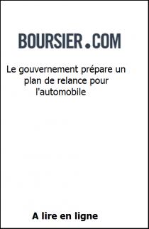 Le gouvernement prépare un plan de relance pour l'automobile