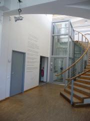 Hall de la bibliothèque