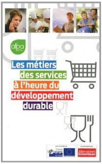 Les métiers des services à l'heure du développement durable
