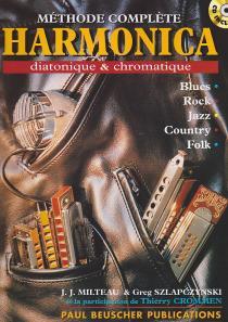 Méthode pour l'harmonica diatonique et chromatique