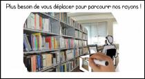 Parcourez les étagères de la bibliothèque depuis chez vous