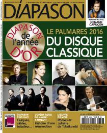 La musique classique en 2016 par Diapason