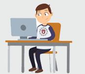 Travailler son rapport d'élève à distance