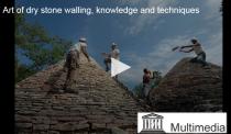 Vidéo de l'UNESCO sur les constructions en pierre sèche