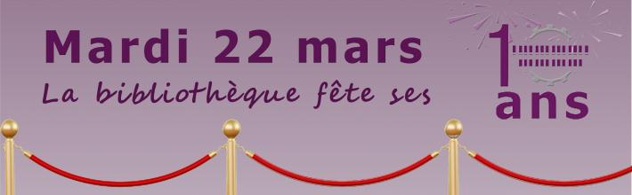 Annonce _ 22 mars