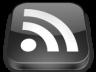 Logo RSS noir