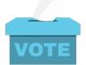 Les élections présidentielles avec la bibliothèque