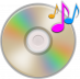 CD musique audio - notes - mp3 - son